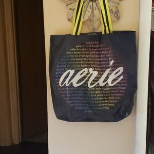 Aerie recyled tote bag